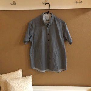 Van Heusen Button Down short sleeve shirt